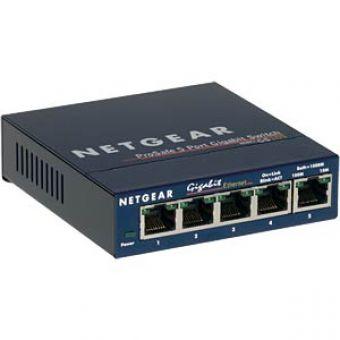 NETGEAR ProSAFE GS105 5 Port 10/100/1000 Switch