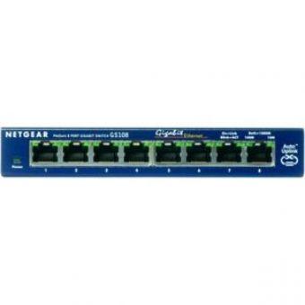 NETGEAR ProSAFE GS108 8 Port 10/100/1000 Switch