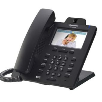 Panasonic KX-HDV430X - 4.3'' Colour Touch Screen Video Display SIP Handset with EHS, Bluetooth, Camera and HD Voice