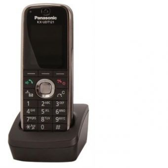 "Panasonic UDT121 SIP DECT Phone - Slim and Light - 1.8"" Colour LCD display - Bluetooth support"