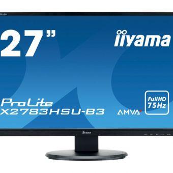 Iiyama ProLite X2783HSU-B3 27 Screen HDMI, VGA, DisplayPort
