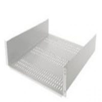 2U 400mm deep Front Mounted Shelf