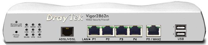 Draytek Vigor 2862n ADSL/VDSL Router